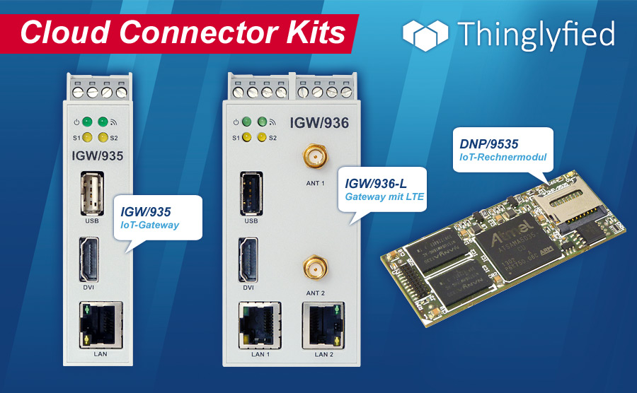 Thinglyfied Cloud Connector Kits