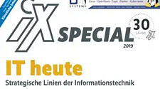 "Fachartikel von SSV im iX Special ""Internet of Things"""