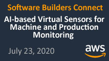 "Vortrag ""AI-based Virtual Sensors for Machine and Production Monitoring"""