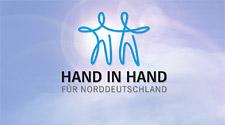 """Spende an """"Hand in Hand für Norddeutschland"""""""