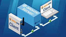 OpenVPN-Server im Docker-Container